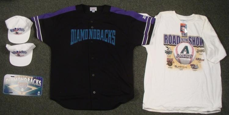 Arizona Diamondbacks Lot- Jersey Hats T-Shirt