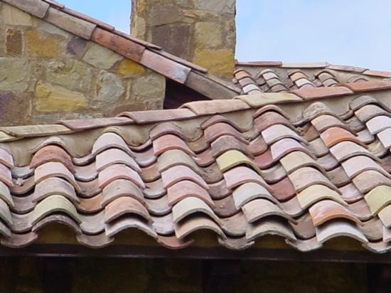 Lot of 10000 Antique ROOF TILES from France cir 1820