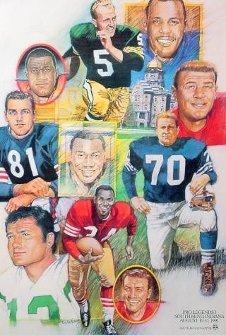 NFL Notre Dame Football Greats Hornuing + MORE - 2