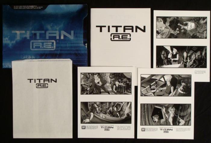 Titan A.E Press Kit Animated Science Fiction Movie