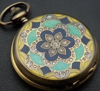 Flower Wedding Quartz Unisex Pocket Watch MWF1818