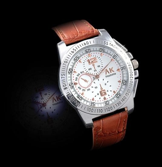 MWF1409 Mens Quartz wristwatch with stainless steel cas