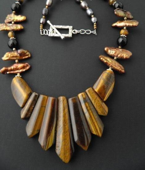 Exquisite Shiny-golden Tiger-eye gemstone sticks and bl