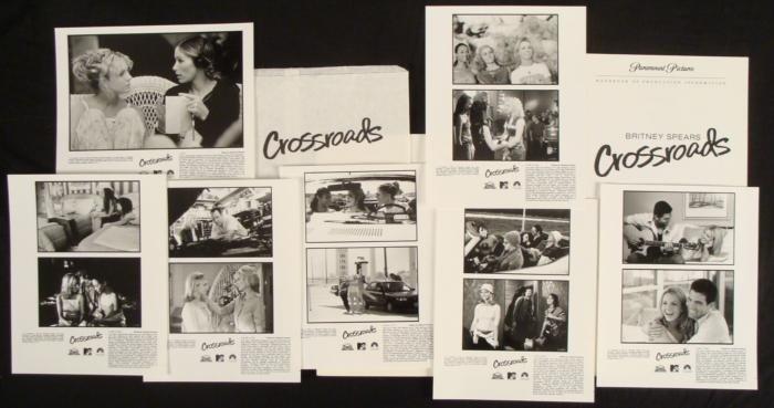 Britney Spears Crossroads Movie Press Kit w/ Photos