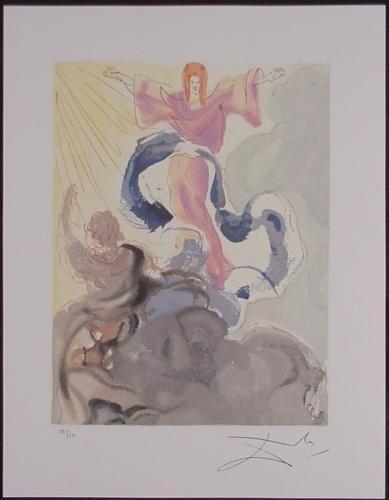 After Salvador Dali Divine Comedy PICCARDA DONATI Print