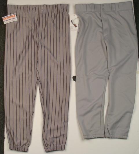 2 Baseball Pants- Large Champro and Medium Red Fox