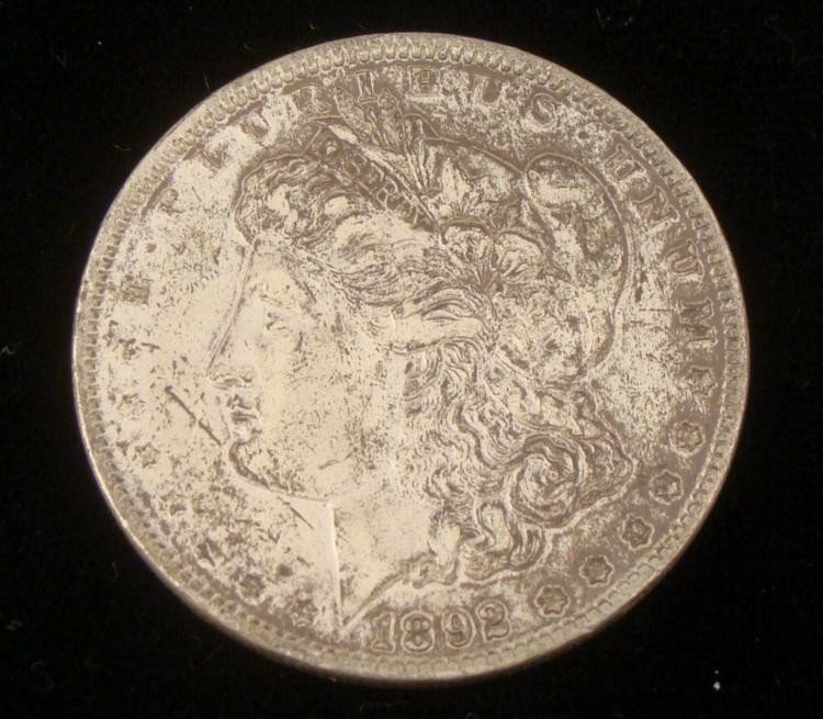 1902 Morgan Silver Dollar -Nice Detail