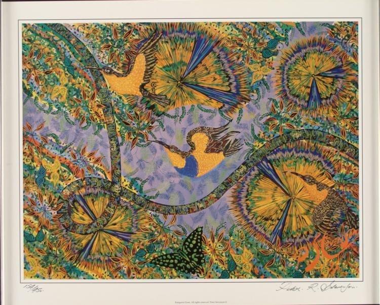 Peter R. Stevenson Signed Australian Art Print