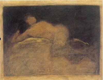 Sitting Nude By Roy Fairchild 30x24 S/N
