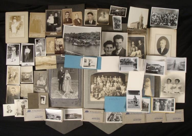 75+ Vinage & Antique Photos Collection Cabinet Cards