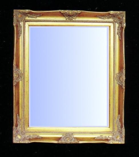 Classically styled gold gilt Mirror