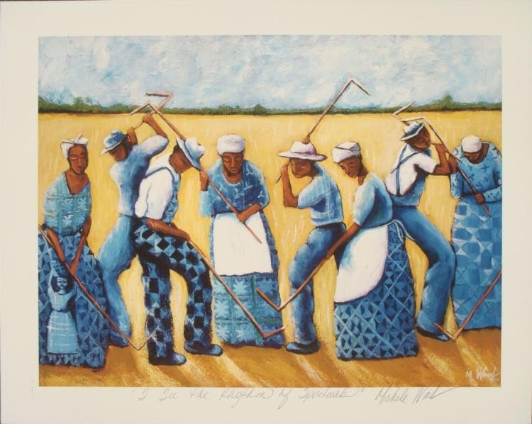 Michele Wood : I See the Rhythm of Spirituals Art Print