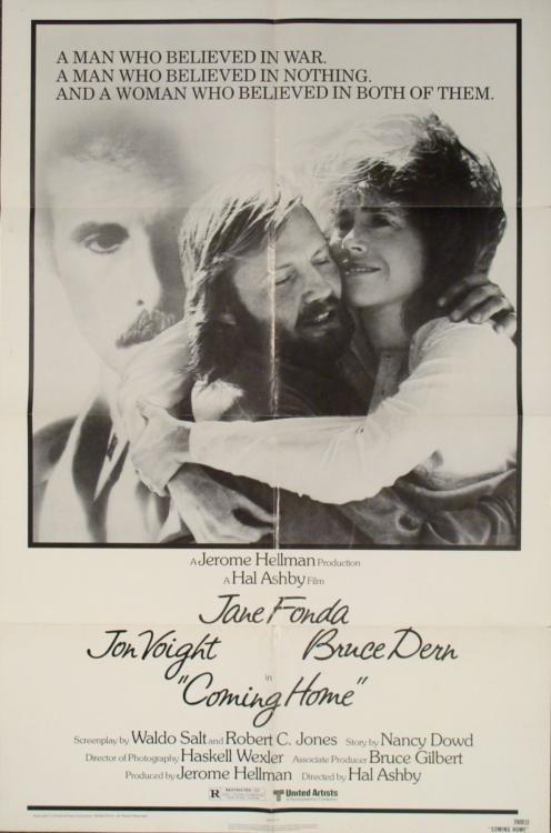 Coming Home Original 1 Sh Movie Poster Oscar Winner
