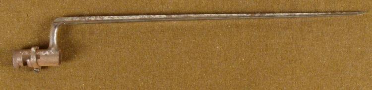 ORIGINAL U.S. CIVIL WAR SOCKET BAYONET COMPLETE US MARK