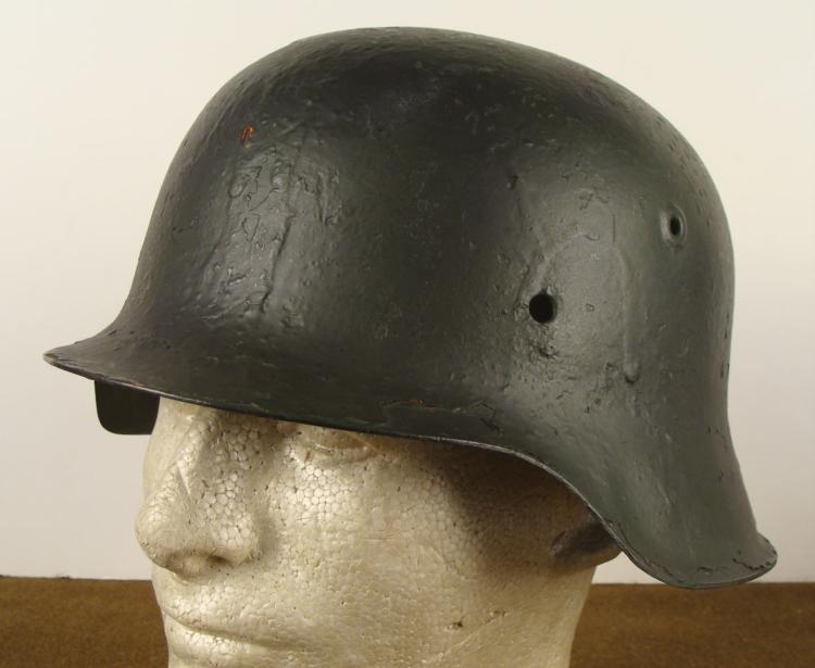 WWII NAZI GERMAN M42 HELMET SHELL