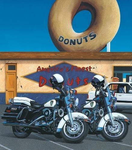 AMERICA'S FINEST Scott Jacobs Harley Motorcycle Art