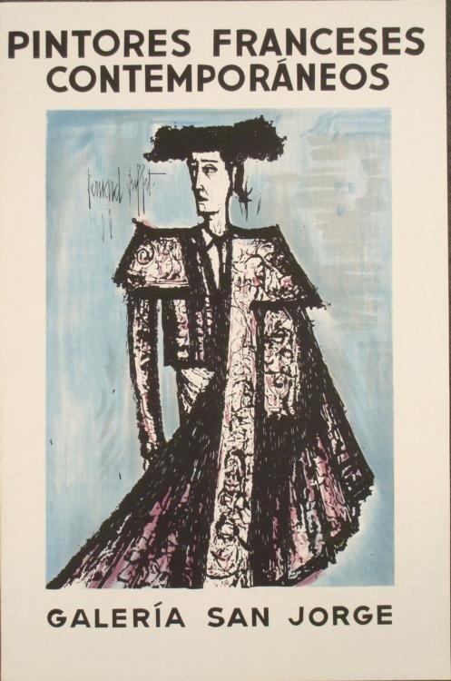 Bernard Buffet : Galeria San Jorge Art Print
