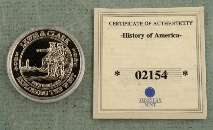 2003 GEM UNC $20 Commemorative Coin Liberia