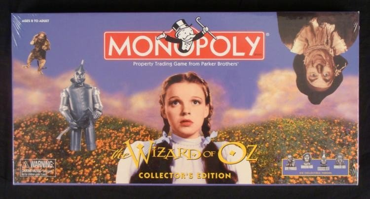 Wizard of Oz Monopoly Game Collector's Ed Sealed NEW