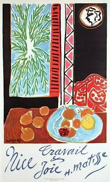 Henri Matisse Art Print Travail et Jolie Mourlot 1947