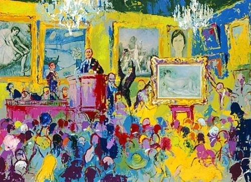 LeRoy Neiman INTERNATIONAL AUCTION Signed LE Art