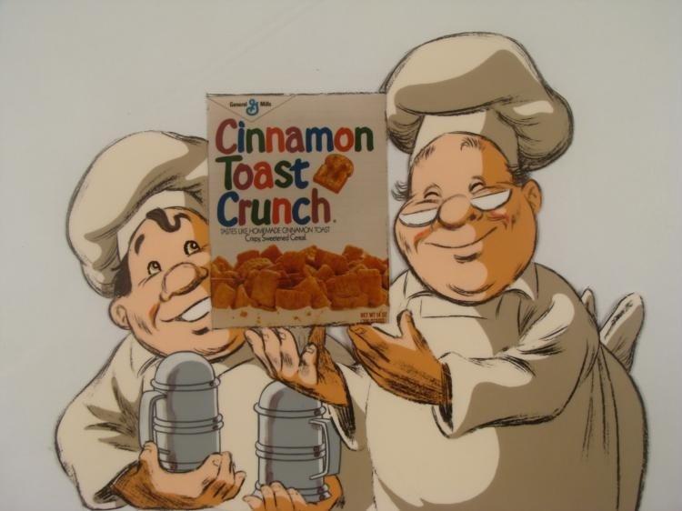 Cinnamon Toast Crunch Ad Orig Production Cel & Drawing - 2