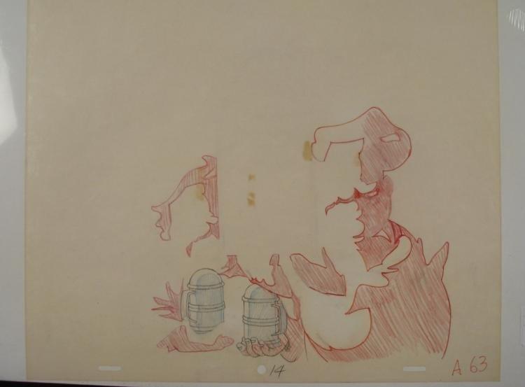 Cinnamon Toast Crunch Ad Orig Production Cel & Drawing - 3