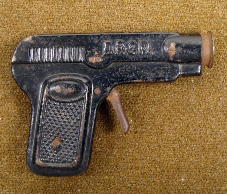 POST WAR GERMAN MADE TOY CORK GUN