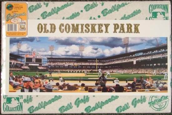 Old Comiskey Park Continuum Bill Purdom Sox Art Print