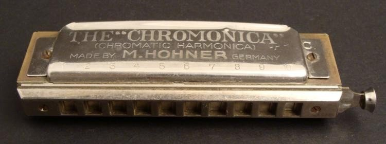 Chromonica Vintage Harmonica M Hohner Germany -Key of C