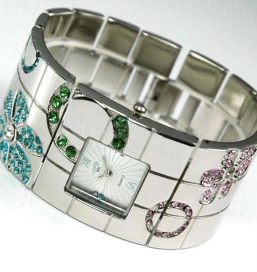 Beautiful bangel cuff Ladies wrist watch MWF935