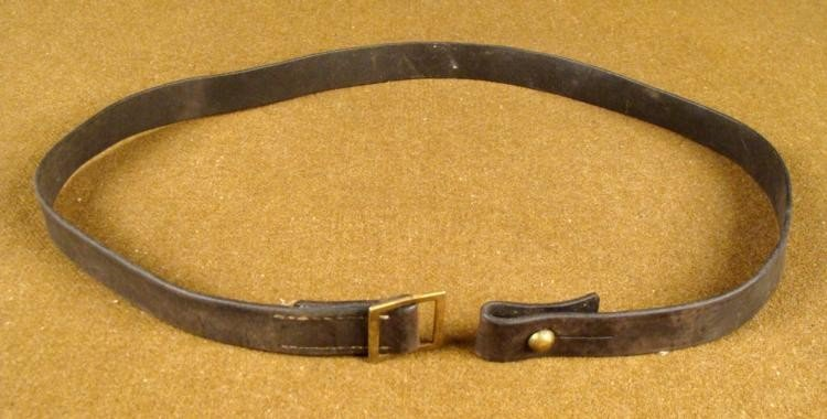 GERMAN EQUIPMENT LEATHER STRAP