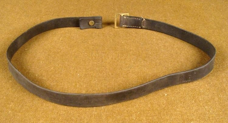 GERMAN EQUIPMENT LEATHER STRAP - 2