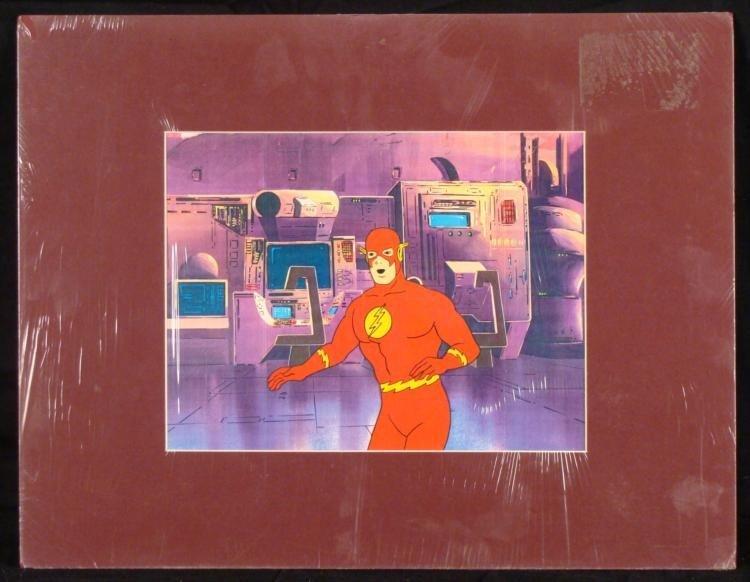 The Flash Original Animation Production Cel, Background