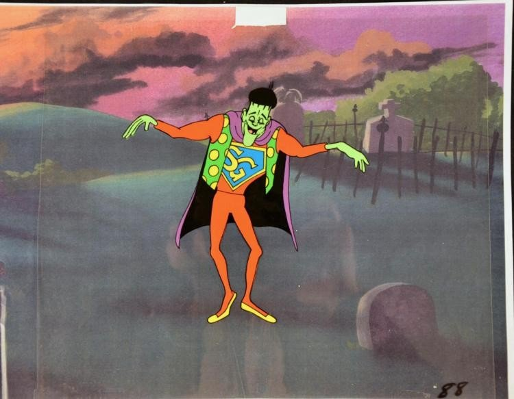 Groovie Goolies Frankenstein Original Production Cel