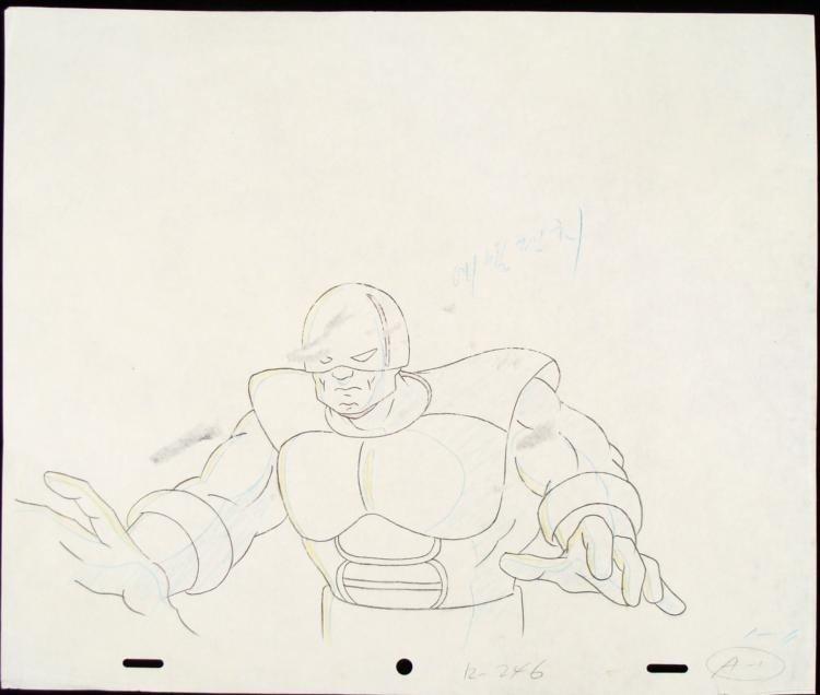 Drawing Animation Juggernaut Original X-MEN Next Victim