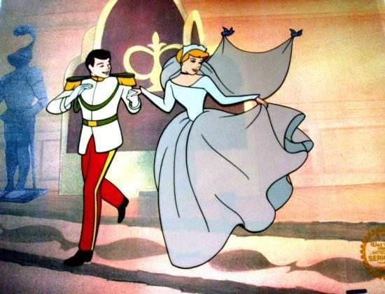 Cinderella Walt Disney Sericels