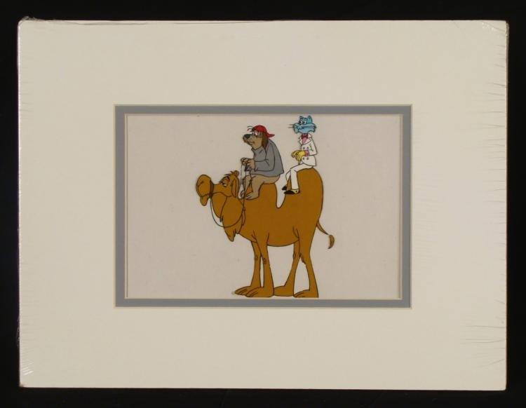 Hanna Barbera Orig Animation Production Cel Cat & Dog