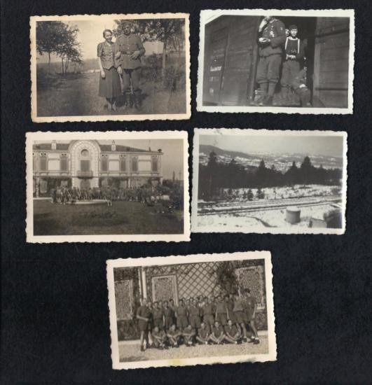 ASSORTED GERMAN PHOTOGRAPHS - LOT OF 5