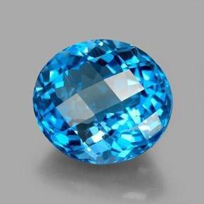 8.96ct Swiss Blue Topaz