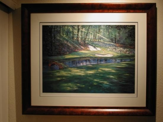 The 12th at Augusta by Michael Schofield