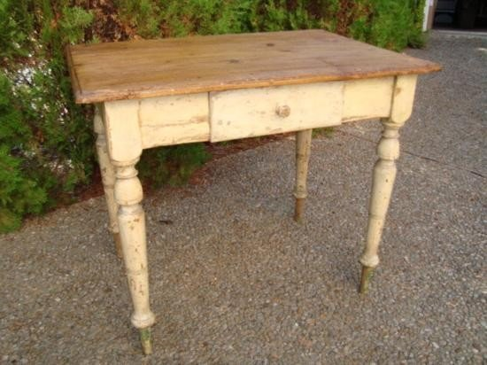 Antique French painted table circa 1850