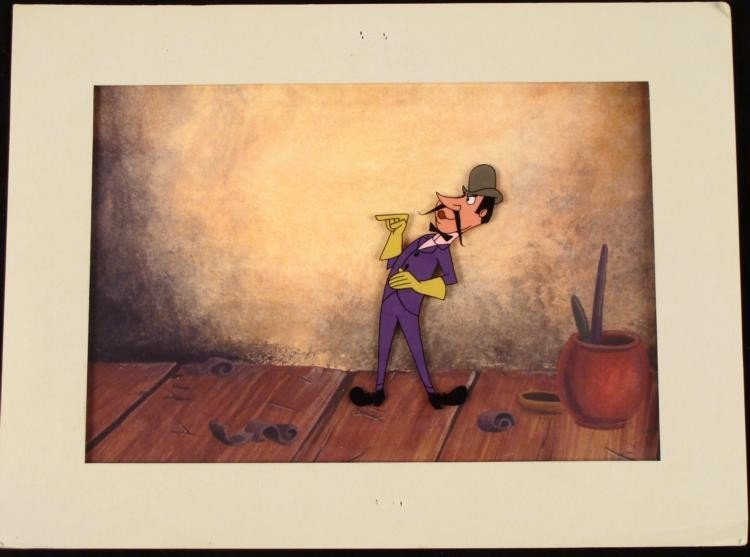 Original Production Cel Joe Muffow Disney 1959