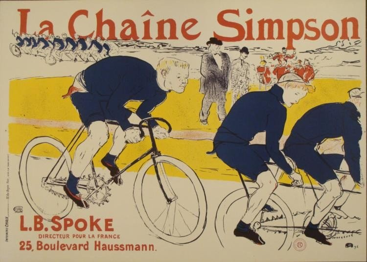 Henri de Toulouse-Lautrec : La Chaine Simpson