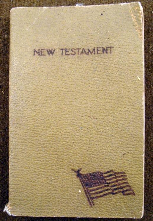 "U.S. MILITARY CHRISTIAN ""NEW TESTAMENT"""