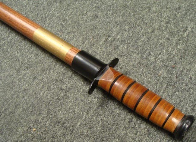 WEAPON WOOD CANE
