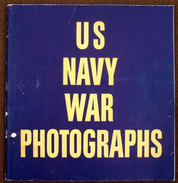 WWII US NAVY WAR PHOTOGRAPH BOOK