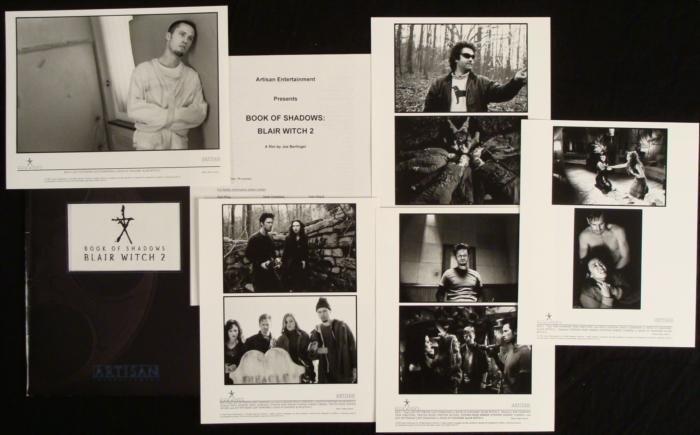 Blair Witch 2 Original Movie  Press Kit w/ Photos
