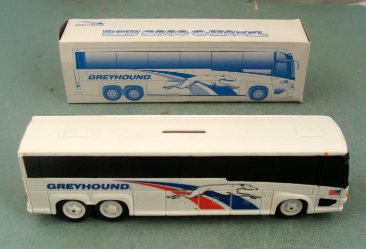Mint in Box New 2000 G-Model Greyhound Bank