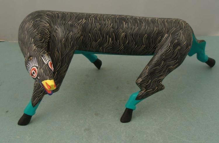 Tereso Fabian Mendoza Original Animal Sculpture Mexico